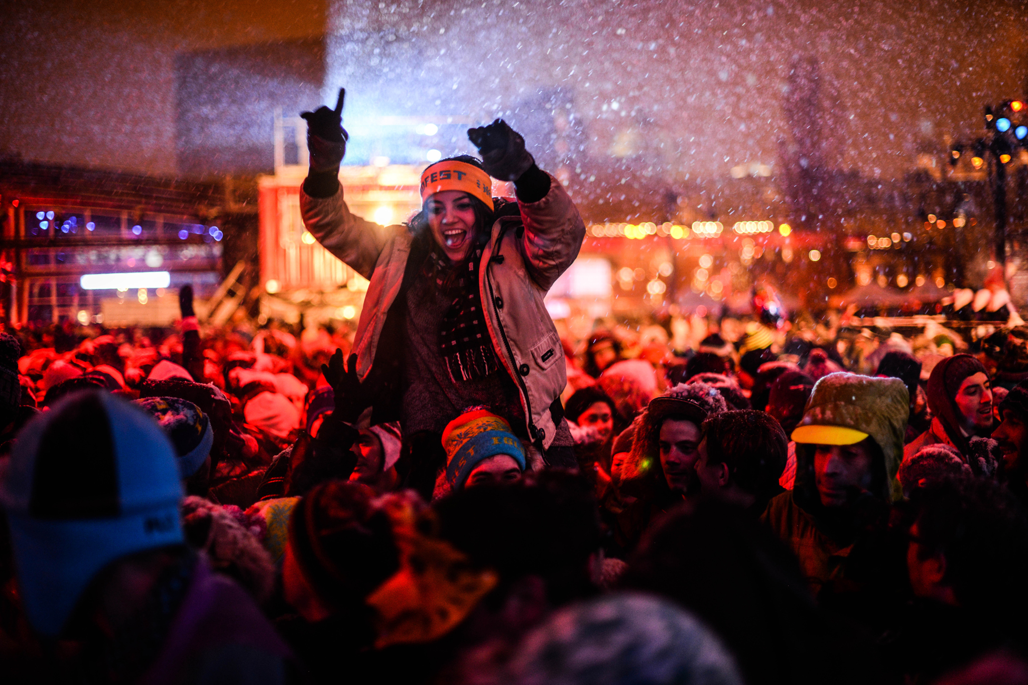 Photos and interviews: Montreal's Igloofest