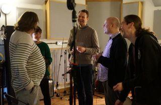 Jonny Ensall visits Press Play studio, Bermondsey