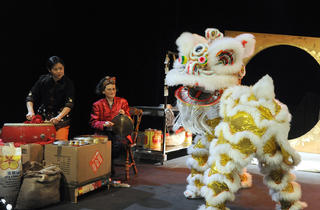 Why the Lion Danced