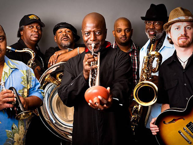 Mardi Gras with Allen Toussaint and Dirty Dozen Brass Band