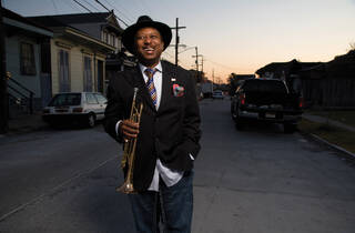 Seventh Annual Nolafunk Mardi Gras Ball! with Kermit Ruffins and the BBQ Swingers + Stooges Brass Band + more