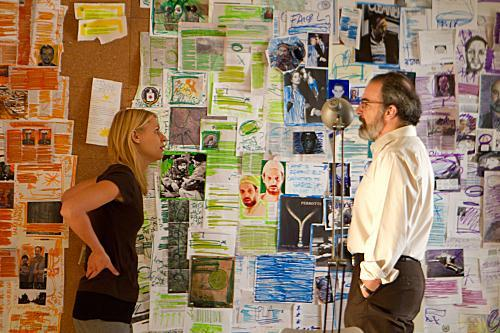 Homeland - Carrie Mathison's wall of clues.