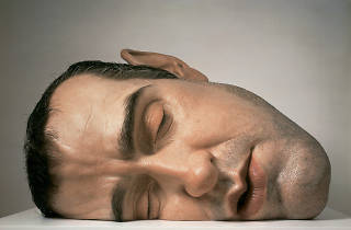 ('Mask II', 2001 / © Ron Mueck / Courtesy d'Anthony d'Offay, Londres)