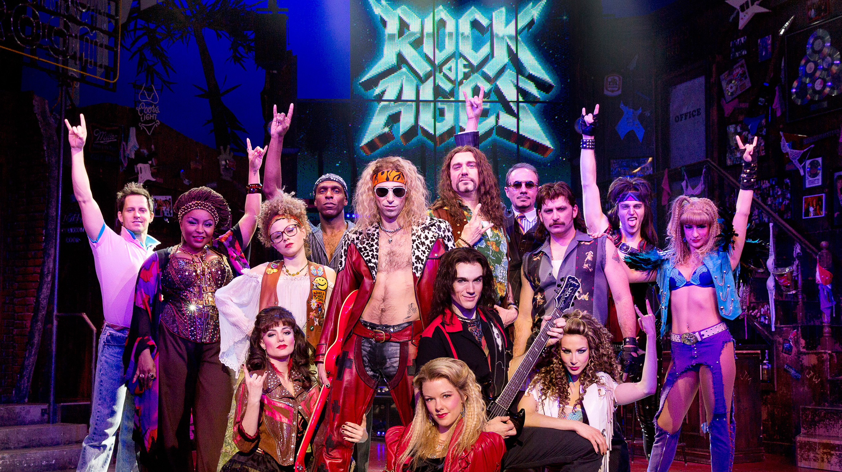 rock of ages on broadway: tickets, reviews and video