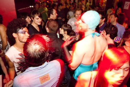 Gay clubbing
