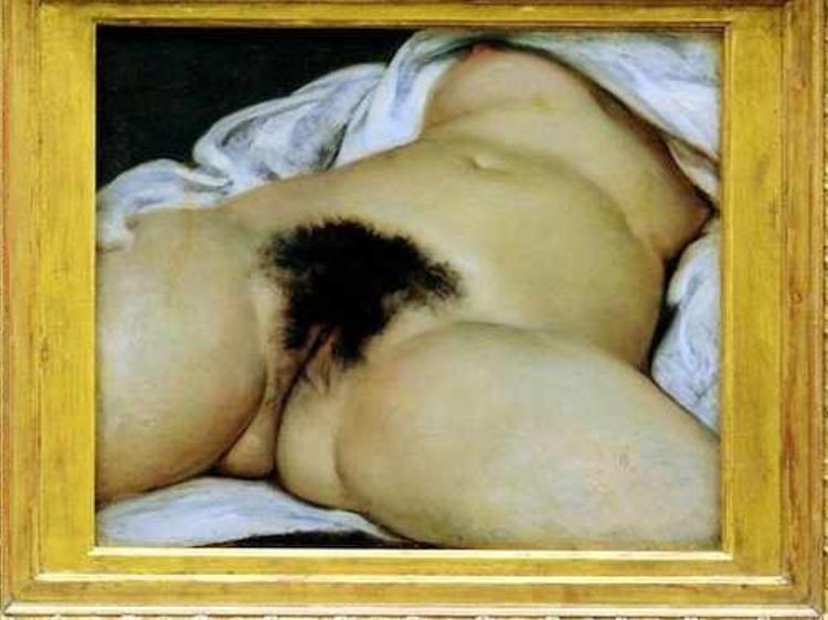 Le sexe féminin dans l'art