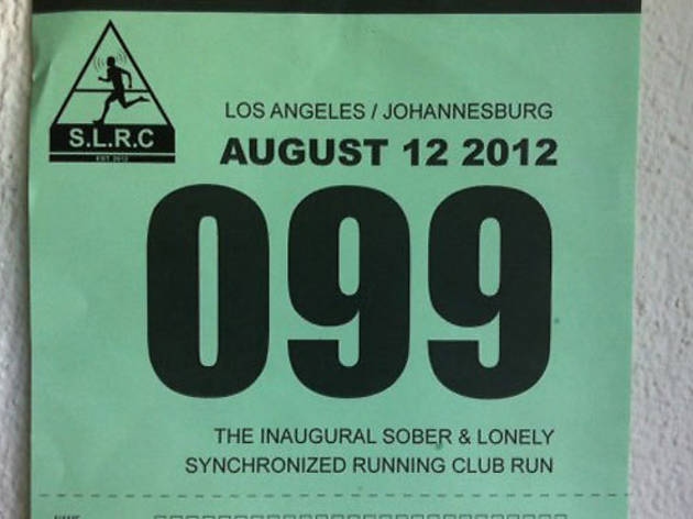 2nd Sober & Lonely Synchronised Running Club Run