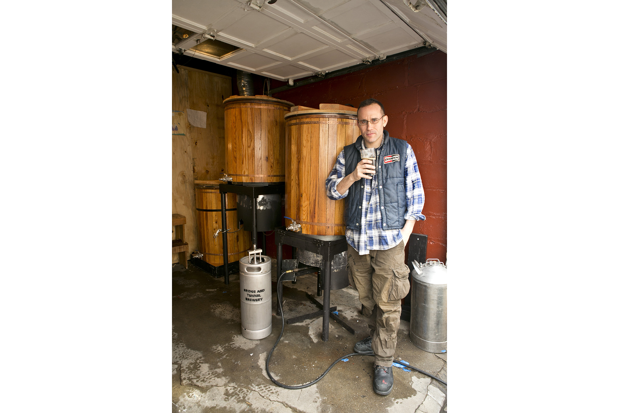 The homegrown microbrewery: Bridge and Tunnel Brewery