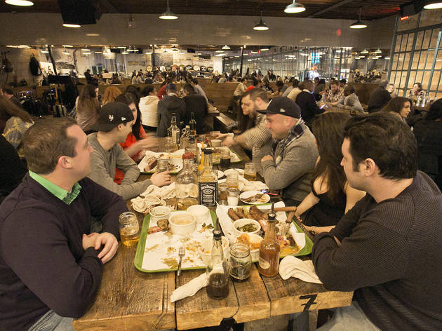 The barbecue beer hall: The Strand Smokehouse
