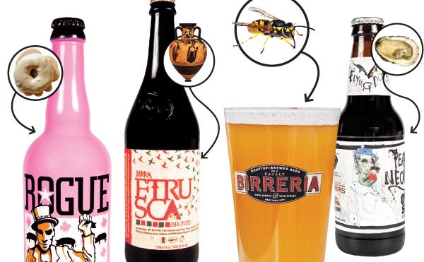 Weird beer ingredients