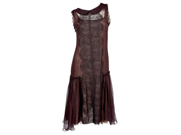 Amelia Toro sleeveless lace dress, $1,105