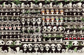 ('Hide in the City, Panda', 2012 / Courtesy de l'artiste et de la galerie Paris-Beijing)
