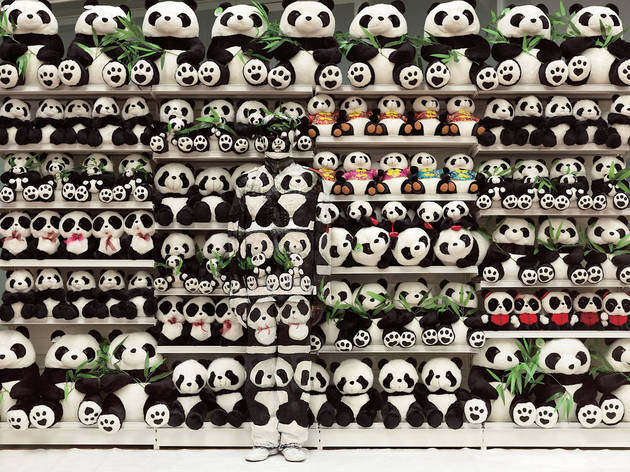 ('Hide in the City, Panda', 2012 / Courtesy de l'artiste et de la galerie Paris-Beijing)