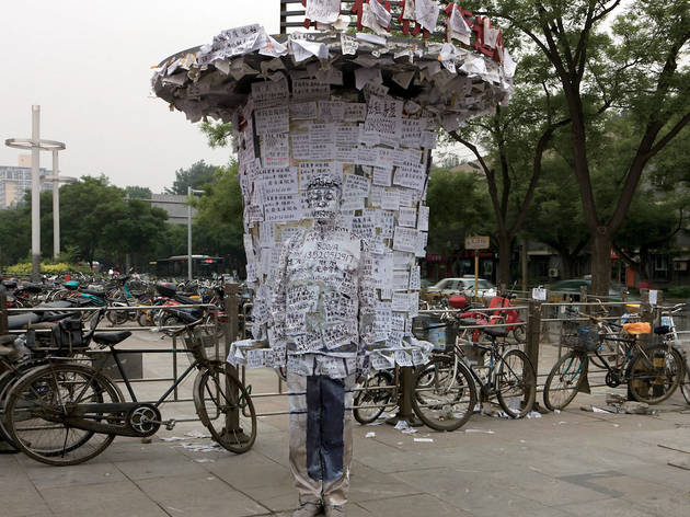 ('Hide in the City, Info Port', 2012 / Courtesy de l'artiste et de la galerie Paris-Beijing)