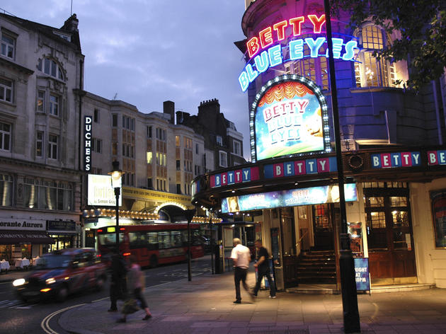 Novello Theatre, Betty Blue Eyes, West End Theatre