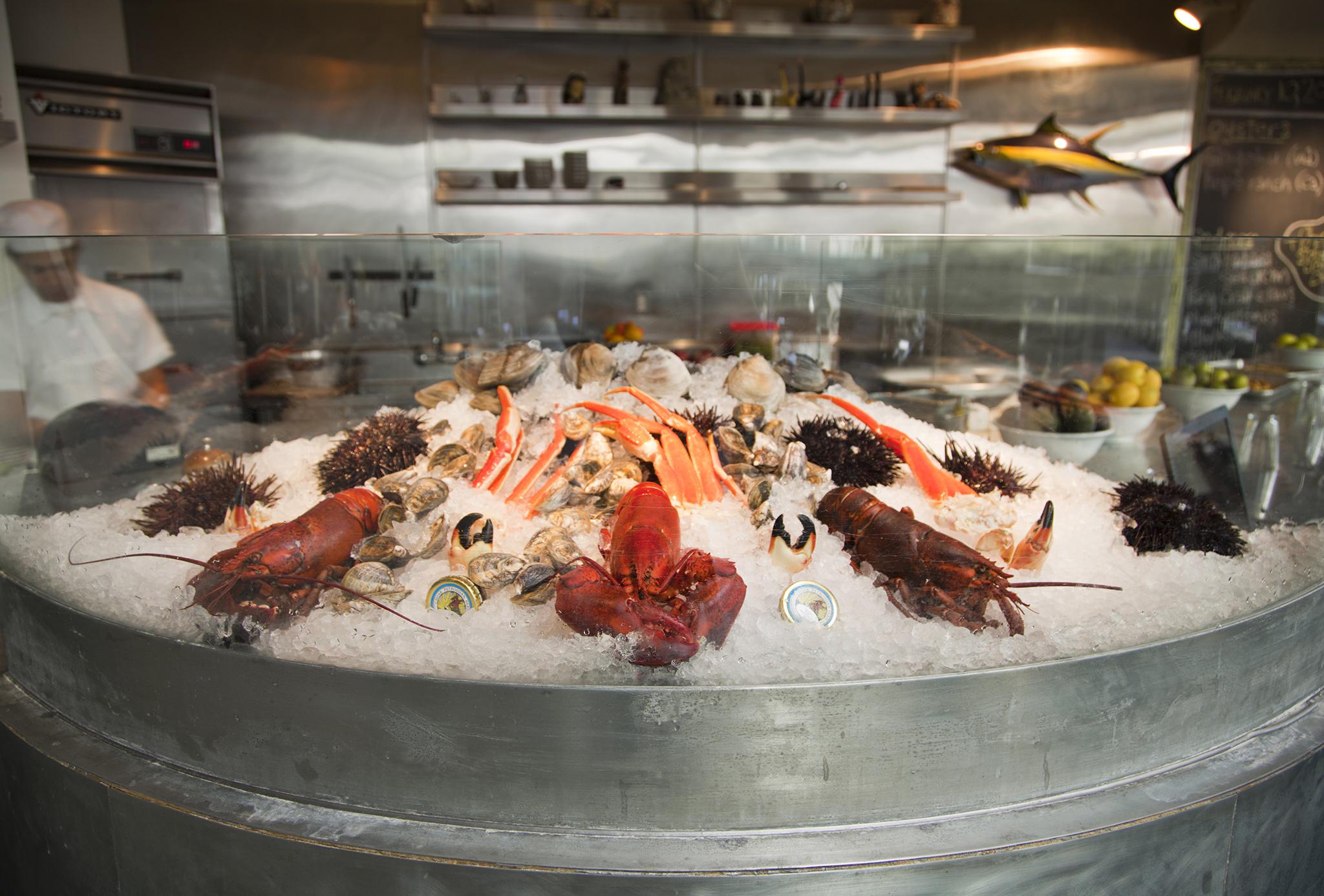 The Hungry Cat Santa Monica's 4th Anniversary Shellfish Boil