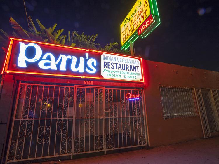 Paru's Indian Vegetarian Restaurant