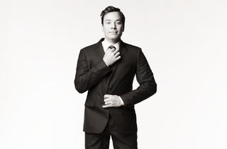Late Night with Jimmy Fallon Monologue Rehearsal