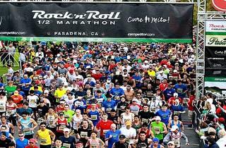 Rock 'n' Roll Pasadena Half Marathon
