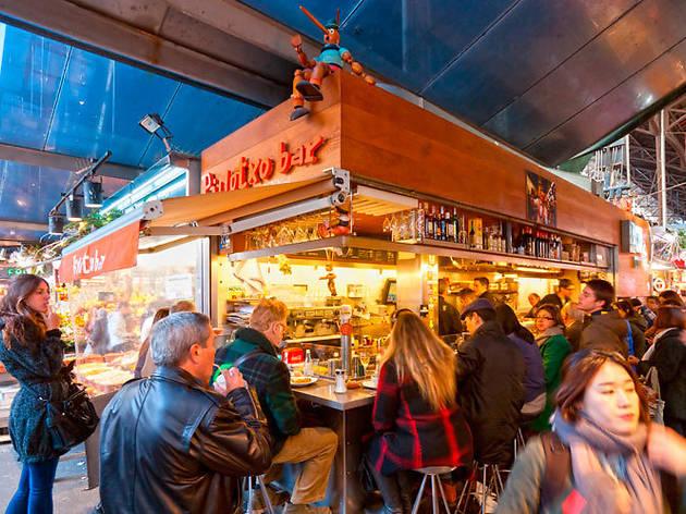 Bar Pinotxo Restaurants In El Raval Barcelona