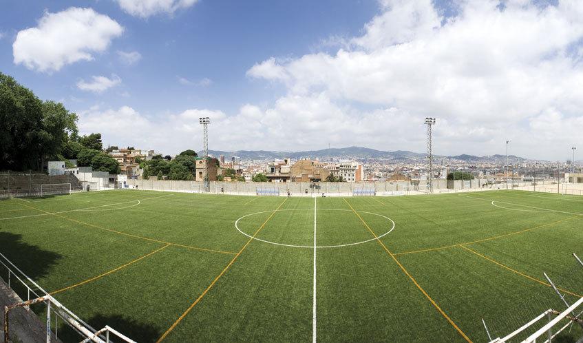 Campor de fútbol de Satalia