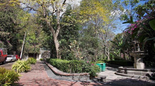 Jardín de los Arcángeles