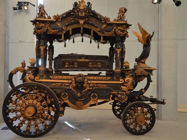 Col·lecció de Carrosses Fúnebres al Cementiri de Montjuïc