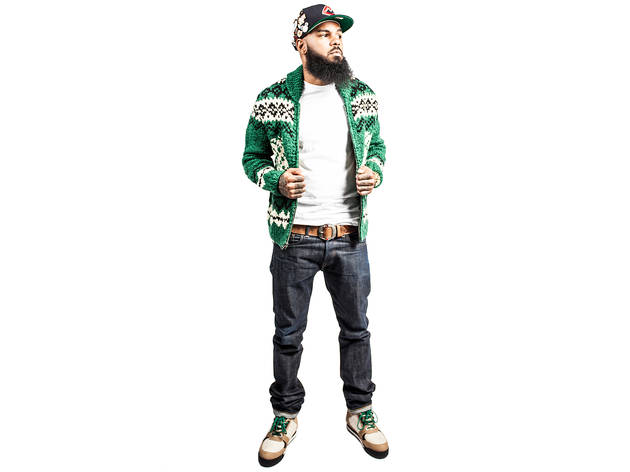 15/21 Ever the brand loyalist, Stalley mixes jeans and a sweater from RRL  with a tee from sister label Polo Ralph Lauren. \u0026ldquo;The color and  pattern ...