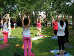 Yoga at Socrates Sculpture Park