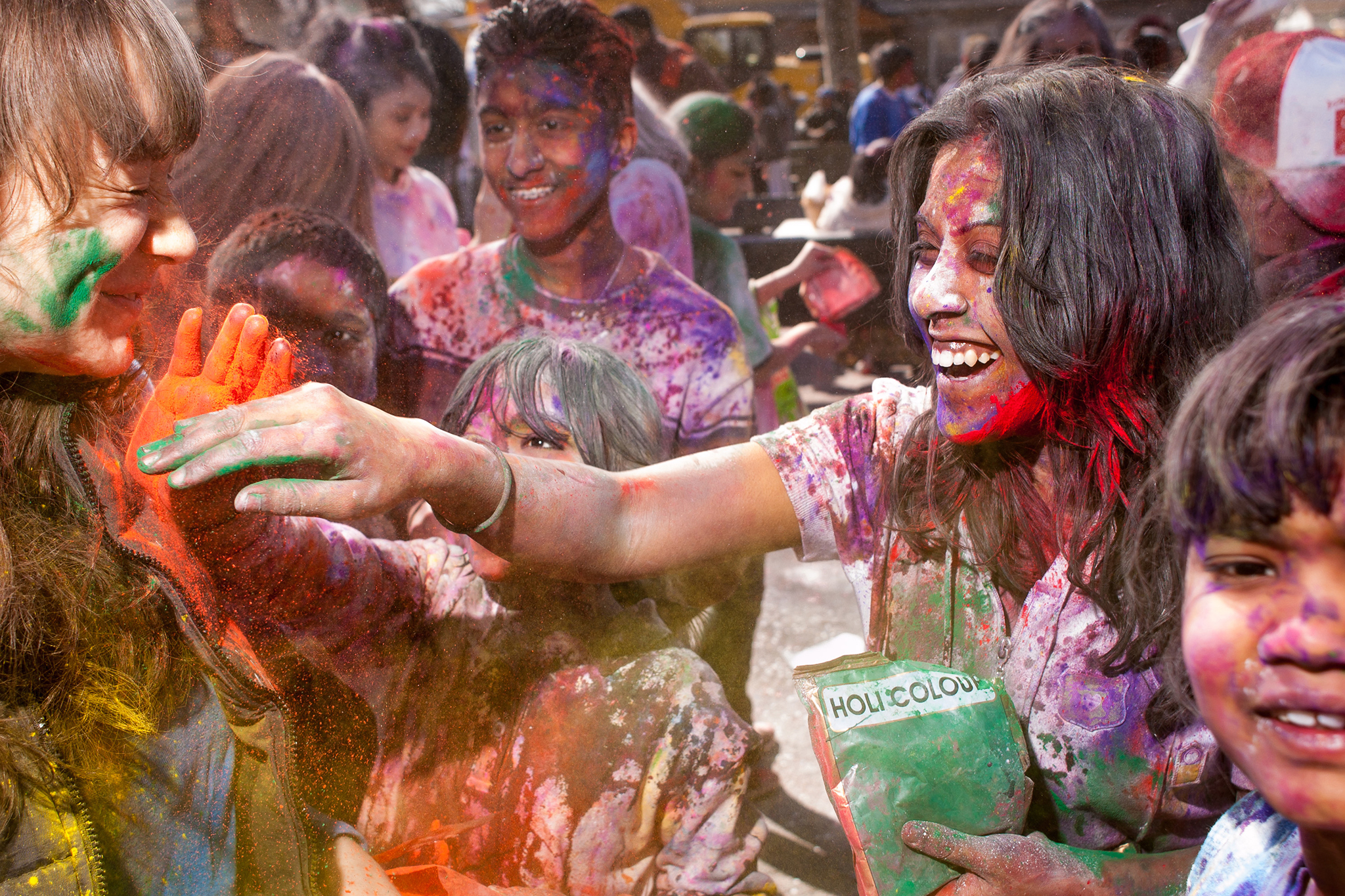 Paint the town at the Phagwah Parade and Festival of Colors: Holi NYC