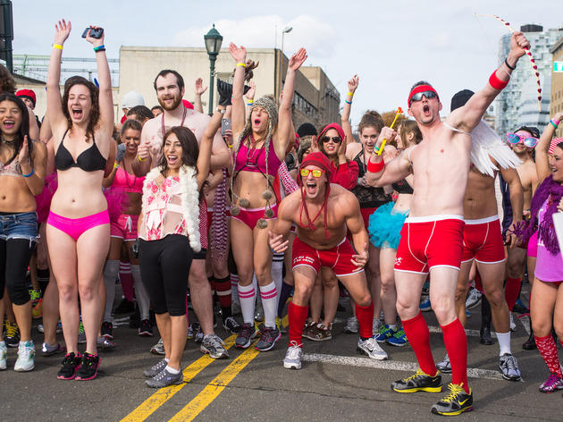 Cupid's Undie Run 2013