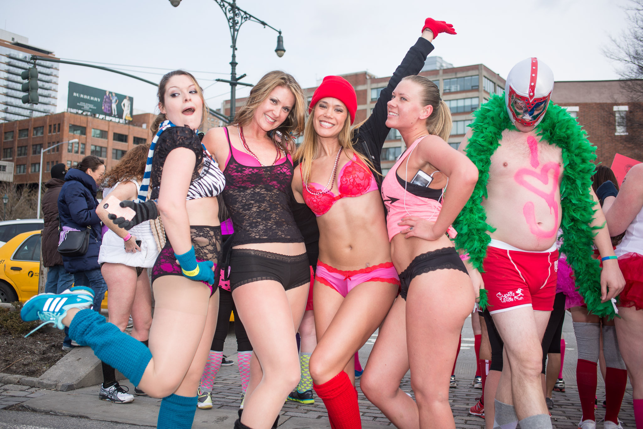 The Cupid's Undie Run guide