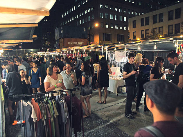 Brooklyn Bazaar is relaunching its night market for the season