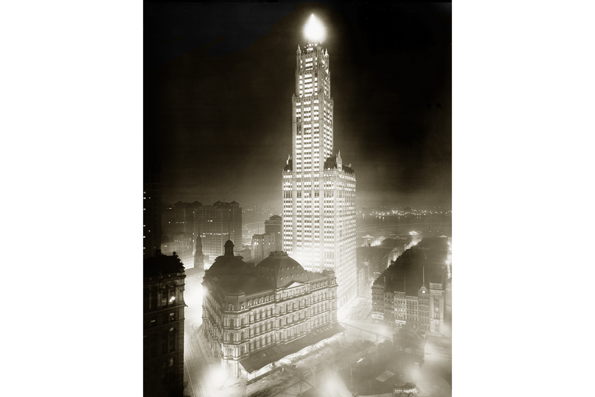 Wish the Woolworth Building a happy 100th birthday