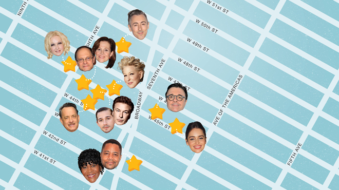 Broadway star map: Where to see big names on Broadway this spring