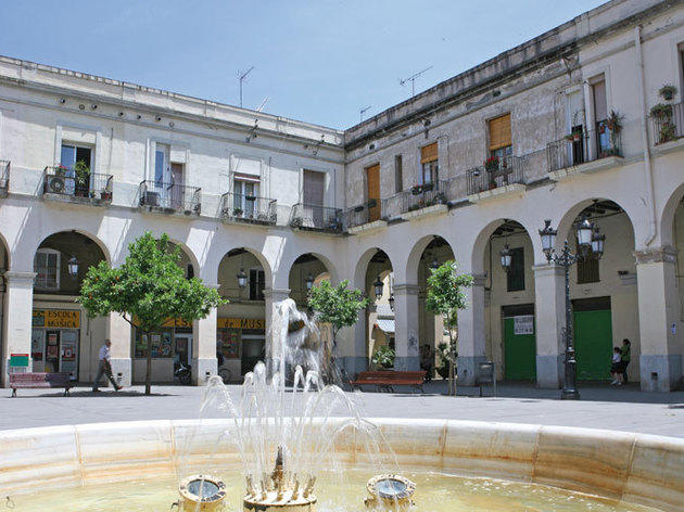 8. Las plazas de Sant Andreu