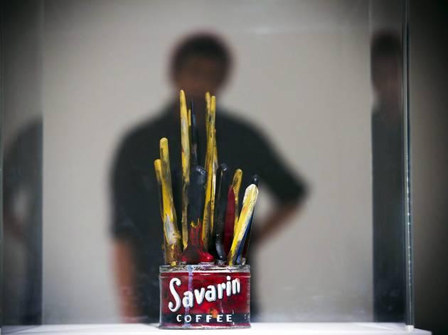 Jasper Johns, 'Painted Bronze'