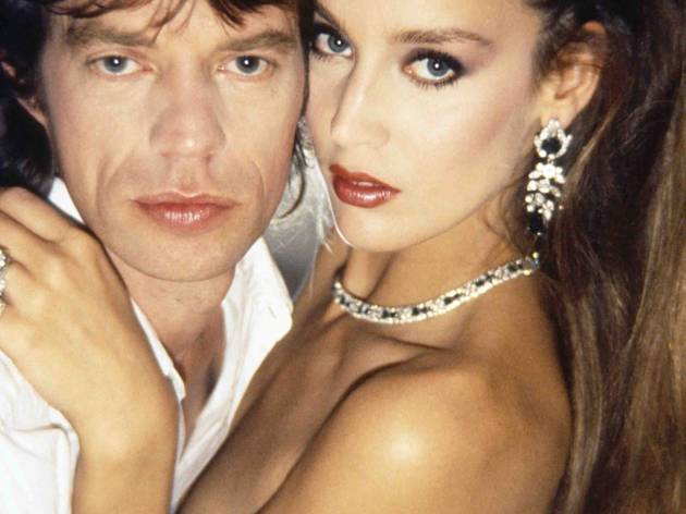 Mick Jagger and Jerry Hall (Corbis/© Norman Parkinson Ltd/Courtesy Norman Parkinson Archive)