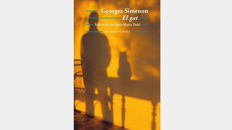 El gat, de Georges Simenon