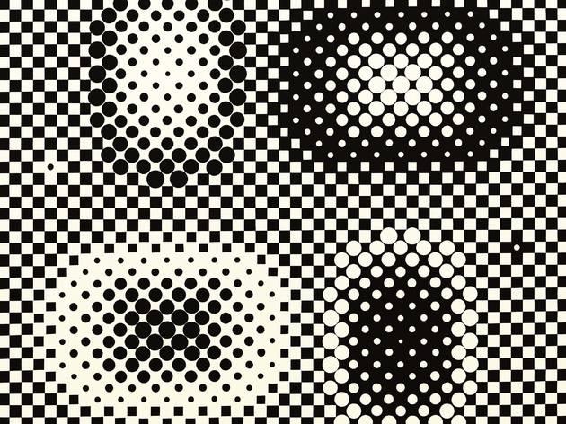 (Victor Vasarely, 'Métagalaxie', 1959-1961 / Courtesy Galerie Pascal Lansberg / © Adagp, Paris 2013)
