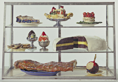 See works by Claes Oldenburg at MoMA