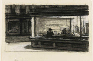 """Hopper Drawing"""