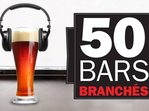 50 bars et clubs branchés