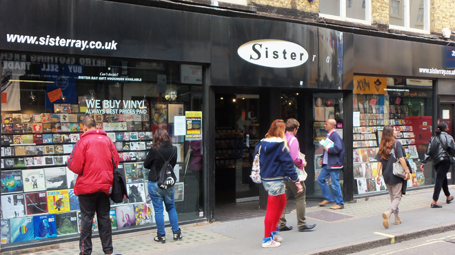 Sister Ray | Shopping in Soho, London