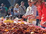 101 things to do in the spring in New York City 2013: Gorge for a cause at Crawfish for Cancer