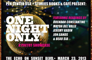 One Night Only: A Poetry Showcase