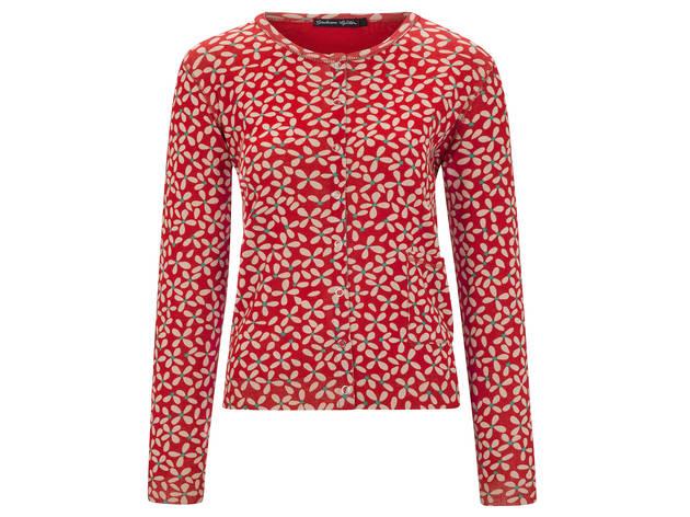 Gudrun Sjödén floral cardigan, $135