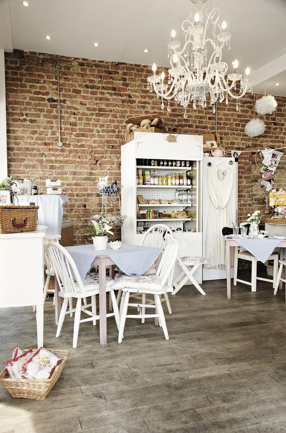 Vintage Tea Room Decorating Ideas