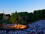 shakeseapre in the park, central park, Delacorte theater