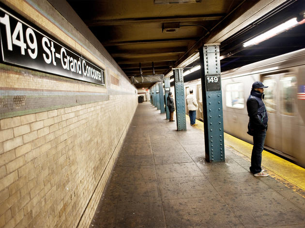 See one year on the NYC subway condensed to three minutes